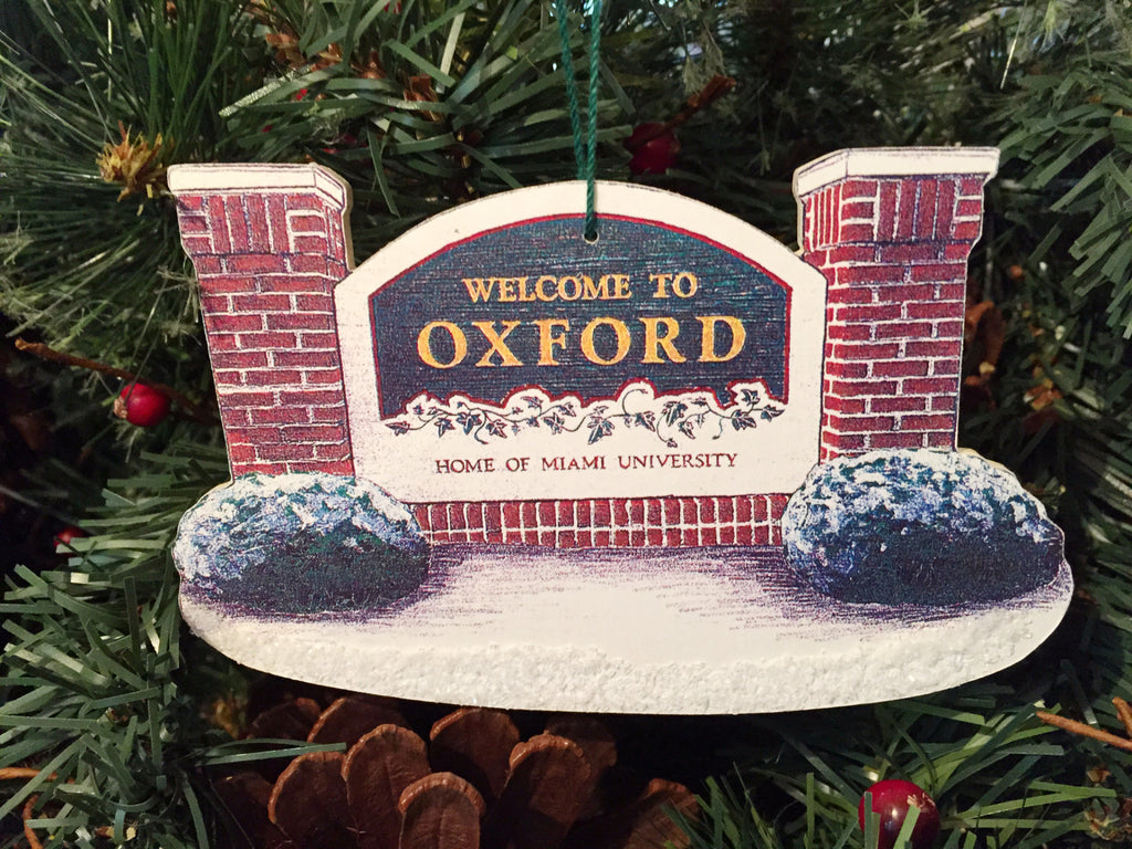 Welcome to Oxford - Barker Ornaments