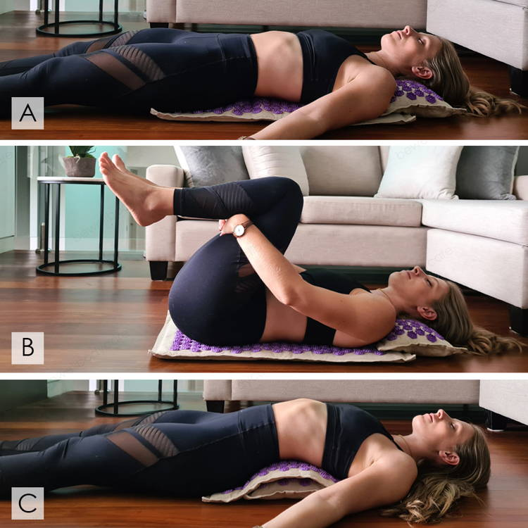 positions tapis acupression
