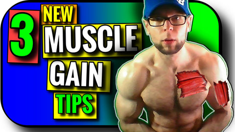 3 Tips for Muscle Growth