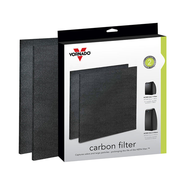 Vornado AC300/500 Activated Carbon Pre-filter 2-Pack Box