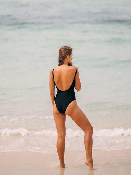 PALOMA One-Piece in Ebony Black