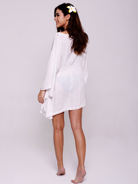 SAMADHI Kaftan in White
