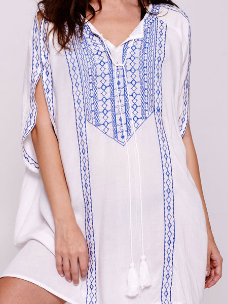 THIRA Kaftan in White