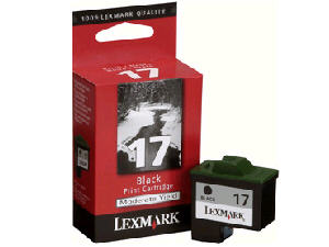 Lexmark #17 Ink Cartridge Black