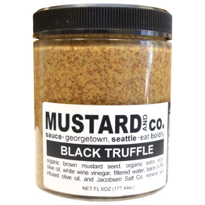 Black Truffle Mustard - Oak & Salt Quality Goods
