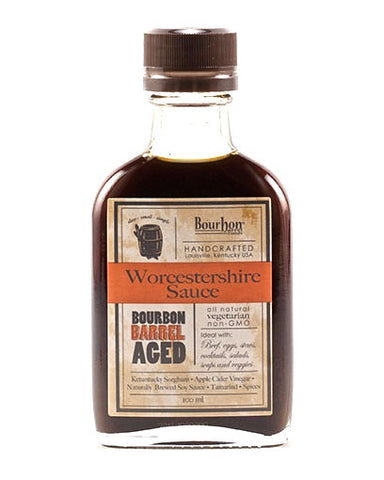 Bourbon Barrel Aged Worcesterchire Sauce - Oak & Salt Quality Goods
