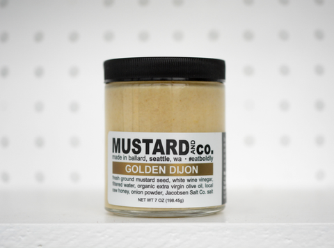Golden Dijon Mustard - Oak & Salt Quality Goods