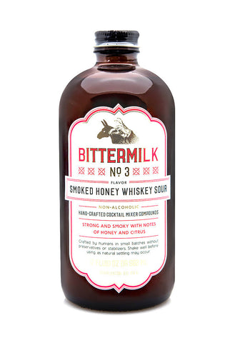 No. 3 Smoked Honey Whiskey Sour - Oak & Salt Quality Goods