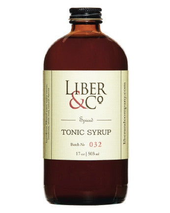 Spiced Tonic Syrup - Oak & Salt Quality Goods