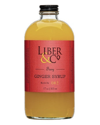Fiery Ginger Syrup - Oak & Salt Quality Goods