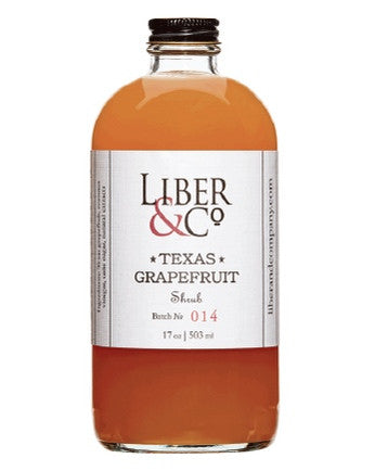 Texas Grapefruit Shrub - Oak & Salt Quality Goods