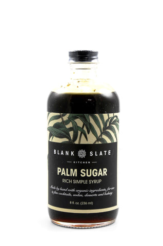 Palm Sugar Rich Simple Syrup - Oak & Salt Quality Goods