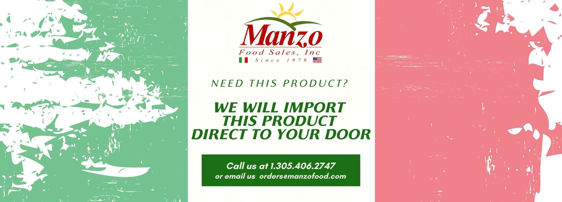 Manzo Food Sales | Authentic Italian Imported Food