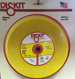 DiskIt #8054 8 Inch PSA Medium Back Up SANDING PAD for Sand paper
