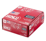 Senco L11BAB 18 Gauge by 1/4-inch Crown by 5/8-inch Electro Galvanized Staples (5,000 per box)