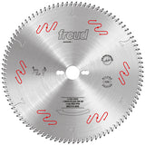 "Freud LU3A03 300mm (11.8"") - 96 Tooth Carbide Tipped Blade for Cutting and Sizing Double-Sided Laminate Panels"