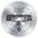Freud LU73M010 10-Inch 60 Tooth ATB Cabinetmaker's Crosscutting Saw Blade with 5/8-Inch Arbor