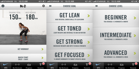 Nike Training Application Review