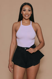 All Types Halter Neckline Bodysuit