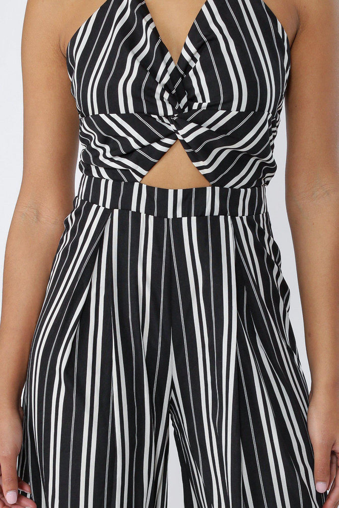 8a1c65a1a23 ... Pretty Please Striped Halter Jumpsuit--KNOWSTYLE