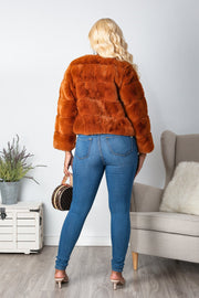 Saturday Night Faux Fur Coat-KNOWSTYLE
