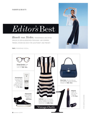 La nuova Gina Bag Serapian tra gli Editor's Best del magazine Moments