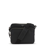 Mini-bag East/West con tracolla, Cachemire ##Nero