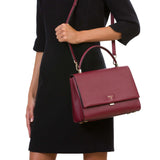 Audrey Bag, Grande, Evolution ##Claret