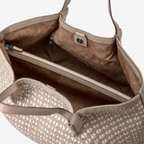 Secret Bag in Mosaico ##Naturale/Panna