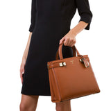 Meliné Bag Piccola, Smooth ##Caramello