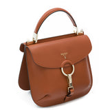 Federica bag, Smooth ##Caramello