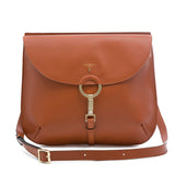 Arianna bag, Smooth ##Caramello