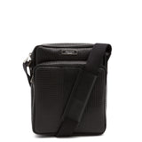 Mini-bag North/South con tracolla, Stepan ##Nero