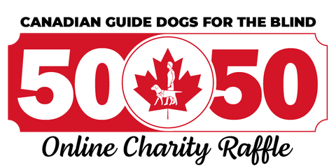 Canadian Guide Dogs for the Blind 50/50 Online Charity Raffle