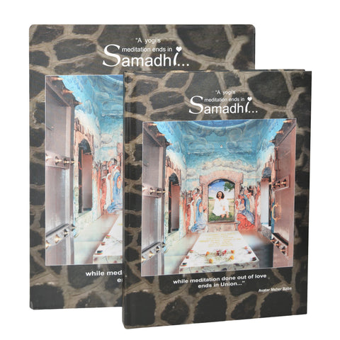 ART BOOK - SAMADHI By Homyar J.Mistry-Homz (Hard Bound) - Meher Book House
