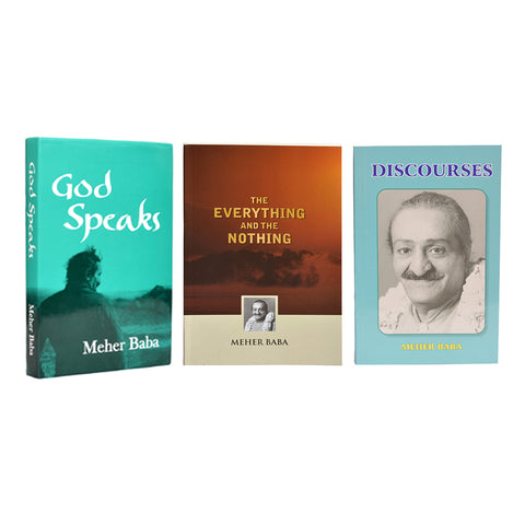 COMBO  II   -   God Speaks,Discourses,The Everything and The Nothing. - Meher Book House