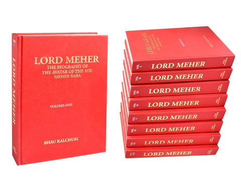 LORD MEHER - Set of 8 volumes By Bhau Kalchuri (HC)