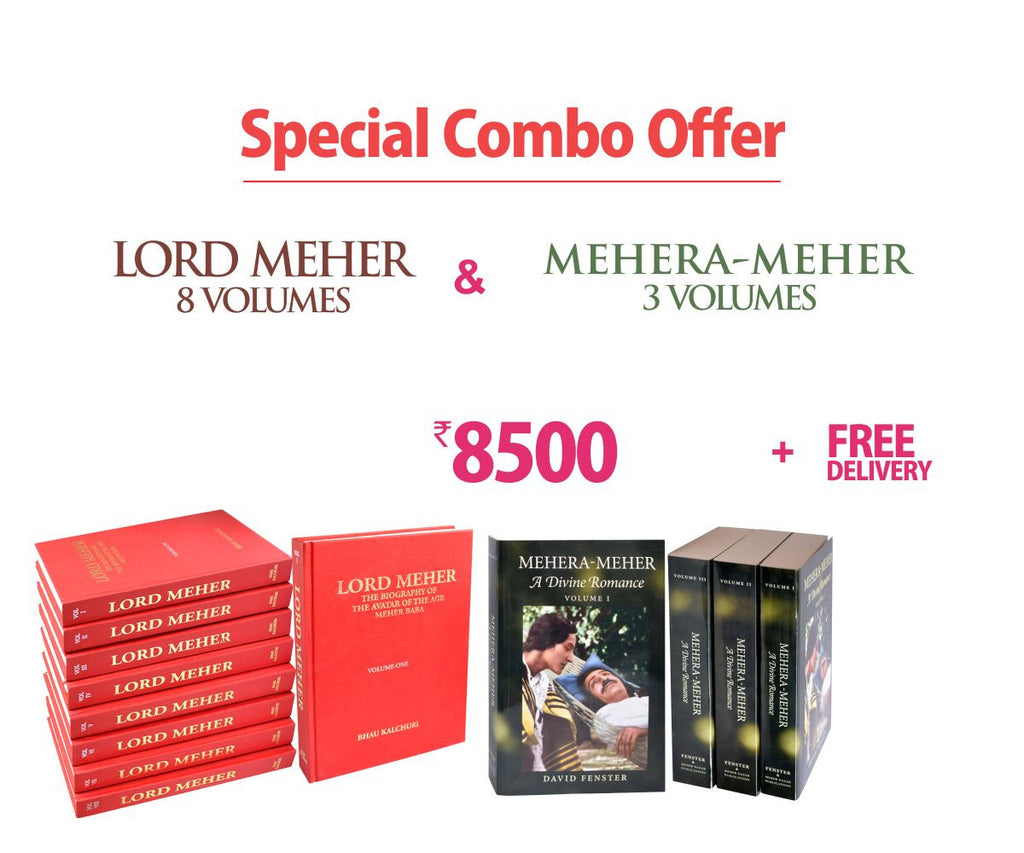 Special Combo Offer -Lord Meher & Mehera -Meher