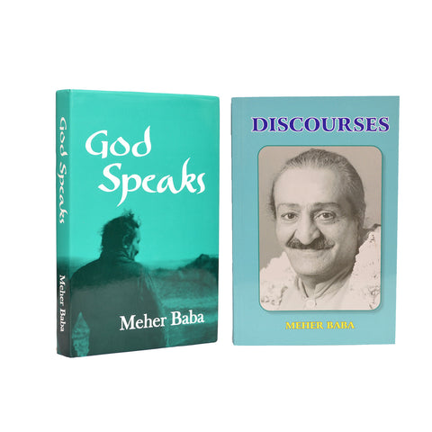 COMBO I - GOD SPEAKS & DISCOURSES BY  MEHER BABA - Meher Book House