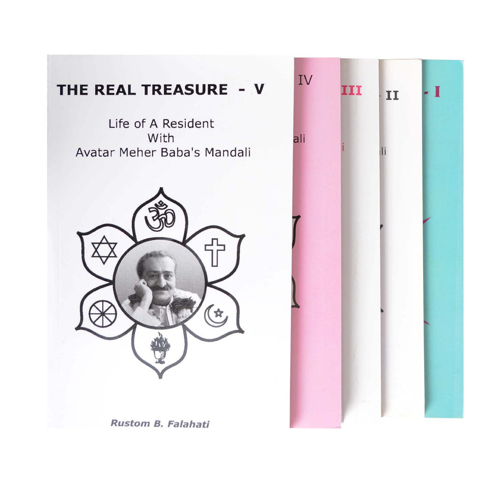 COMBO - IV     THE REAL TREASURE BY Rustom B. Falahati - Meher Book House