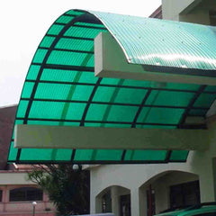polycarbonate roof shed