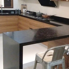 solid surface material for countertops, vanity, sink, nook, kitchen counter