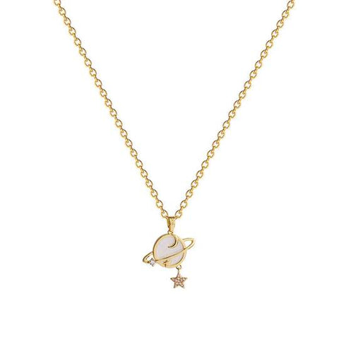 starmoon-gold-charm-necklace