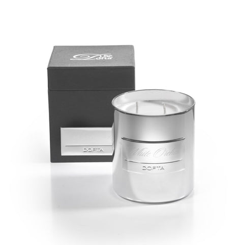 Dofta Silver Candle 400g - Solitaire