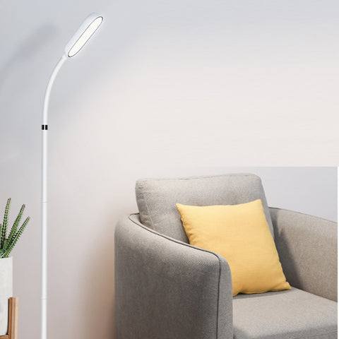 LUMOS LED Floor Lamp Rechargeable Battery Operated Dimmable Reading Light - Adjustable LED Light - Floor Lamp for Bedrooms- led Light