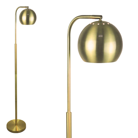 "Mid Century Floor Lamp By LightAccents - Reading Light 59"" Tall"