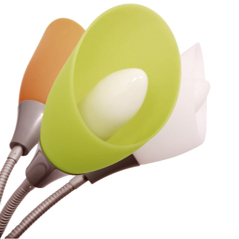 Shade replacement -Set of 5 Multicolored Acrylic Shades - LightAccents.com  - 5