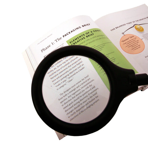 LightAccents Battery Operated Lighted Magnifier Desk Lamp with Flexible Gooseneck - LightAccents.com  - 2
