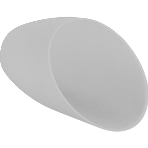 Lightaccents Small Replacement Shades -for Candelabra Base only, Base Hole Dimension: 0.83 inches (21 mm) - White Acrylic Shades (Model 16197-98) (single shade)