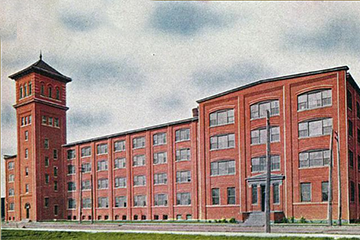 Imperial and Bergsma Brothers Factory Building in Grand Rapids Michigan